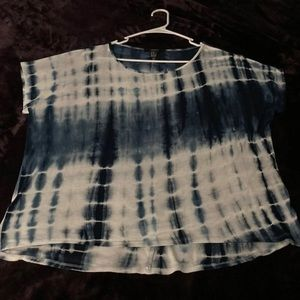 Forever 21 Tie-Dyed Crop Tee